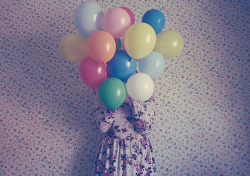 Balloon Balloons Blue Color Colors Inspiring Picture On Favim