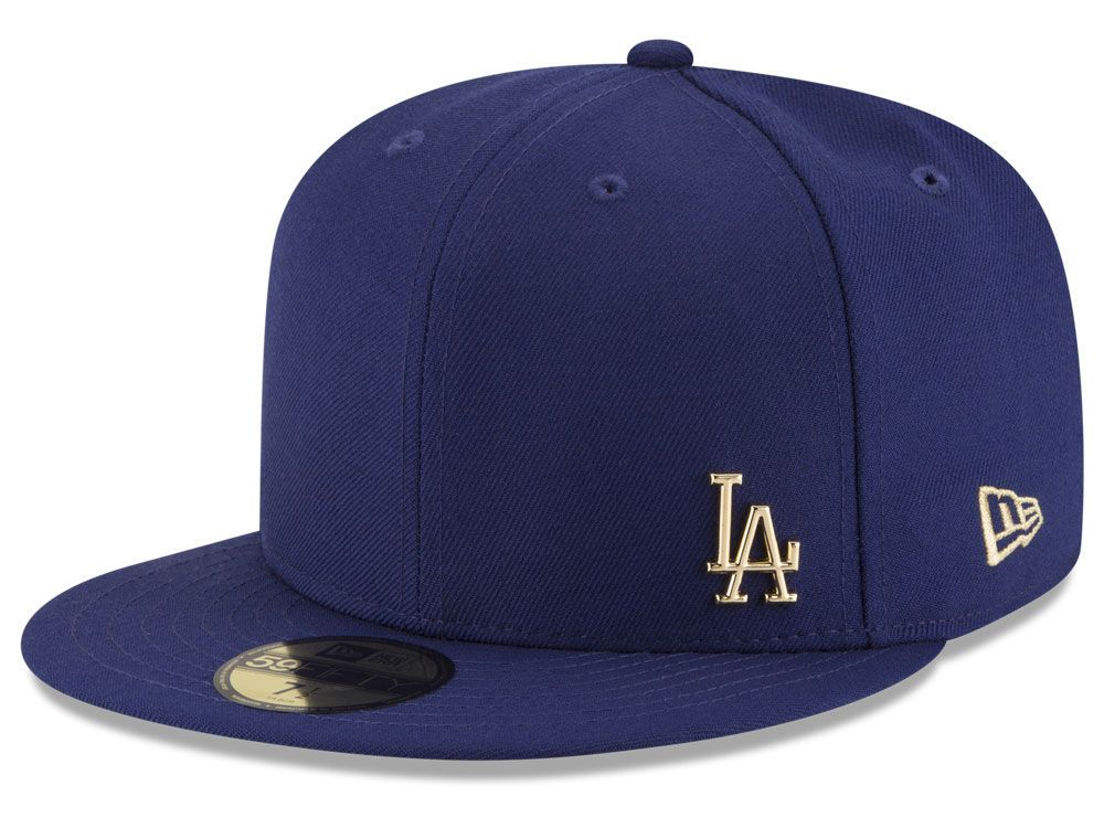 Los Angeles Dodgers New Era MLB Flawless OGold 59FIFTY Cap in 2018 ... cac661c3d2b6