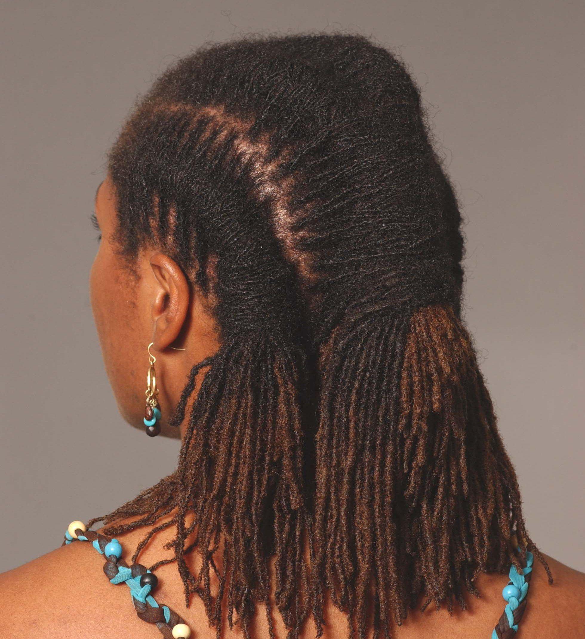 Natural Sister Locks Hairstyles My Hairitage Loc Styles