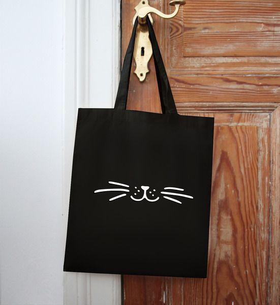 Jute / bag / jute bag / whiskers from EULENSCHNITT HAMBURG