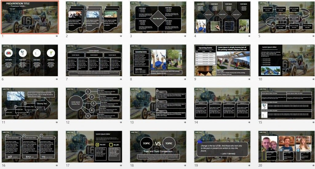 Vintage car and train powerpoint by sagefox free powerpoint free all themed powerpoint templates browse our collection of thousands of free powerpoint templates new powerpoint templates added daily toneelgroepblik Image collections