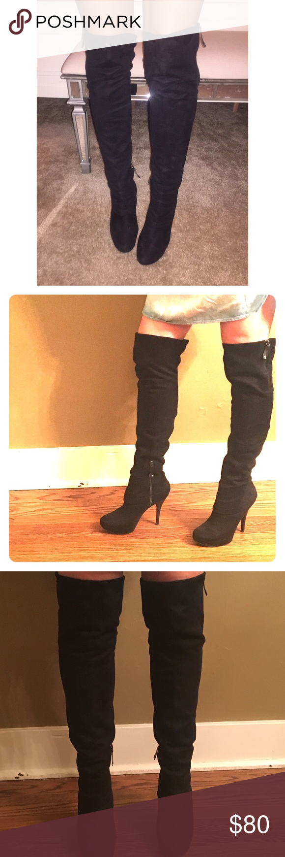 9737abeb128 Guess over the knee boots SEXY!!! Guess by Marciano thigh high over