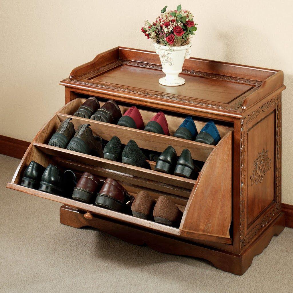 diy shoe organizer designs wooden shoe storage wooden on shoe rack wooden with door id=50305