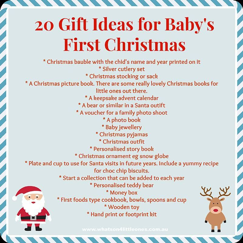 gifts for baby | Christmas | Pinterest | Christmas, Babies first ...