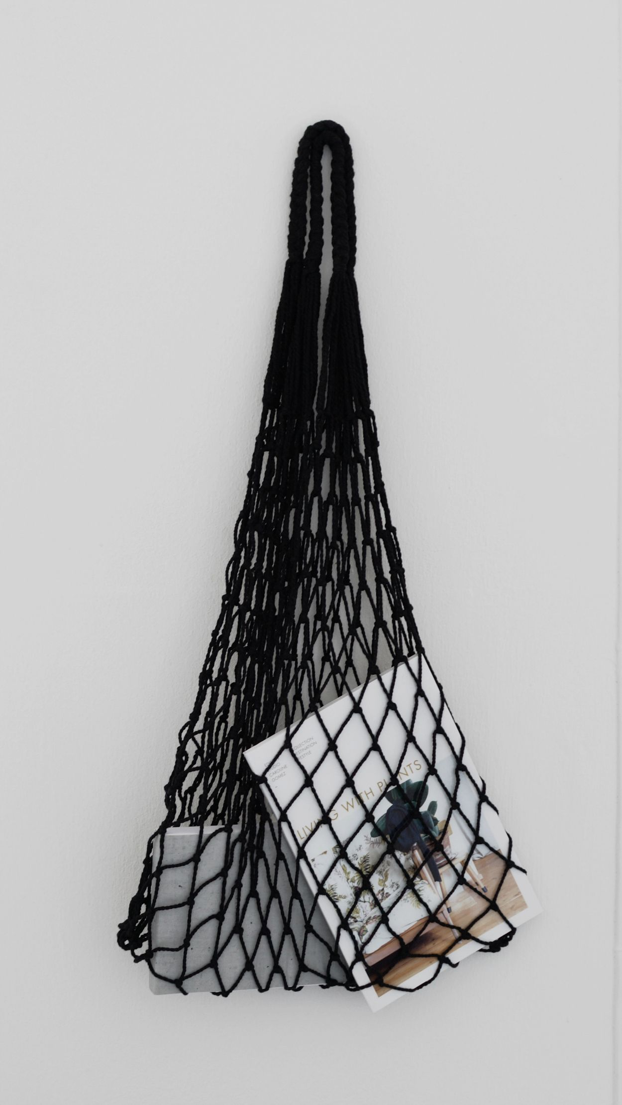 Minimal Eco Mesh Bag Perfect For Little Trips And Ping
