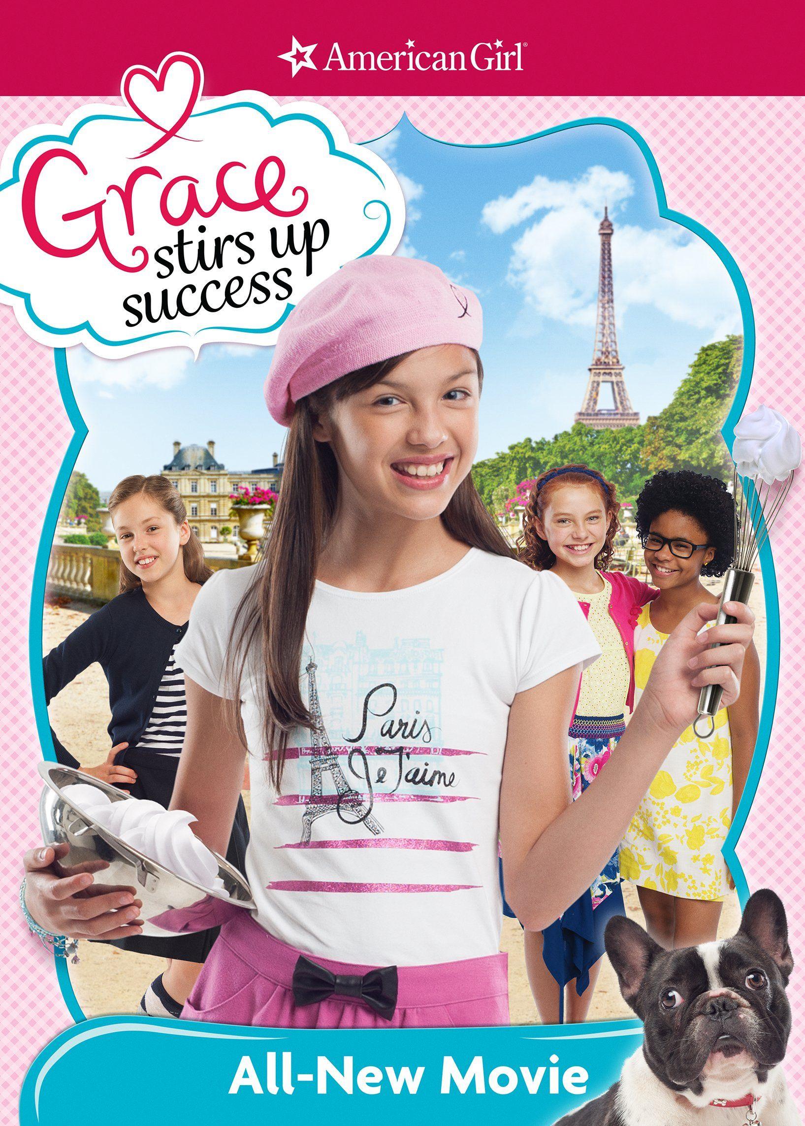 An american girl grace stirs up success dvd american