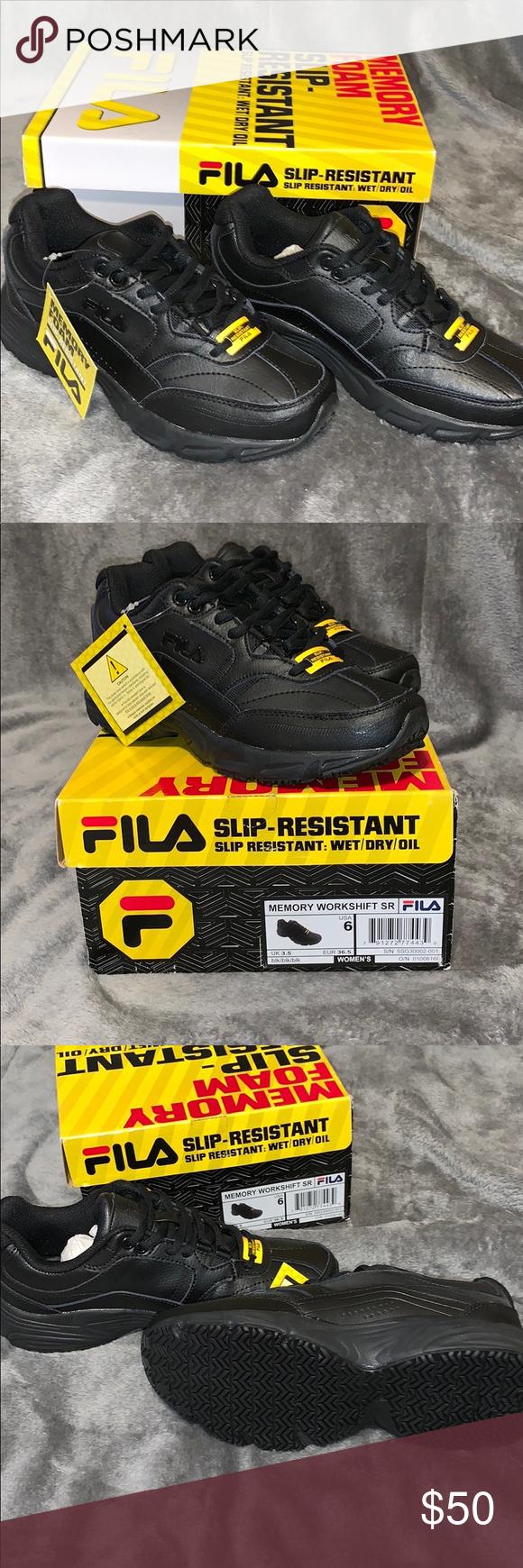 6eaec685e3 NWT Fila Non- Slip Work Shoes Never worn Fila Non- Slip Work Shoes ...
