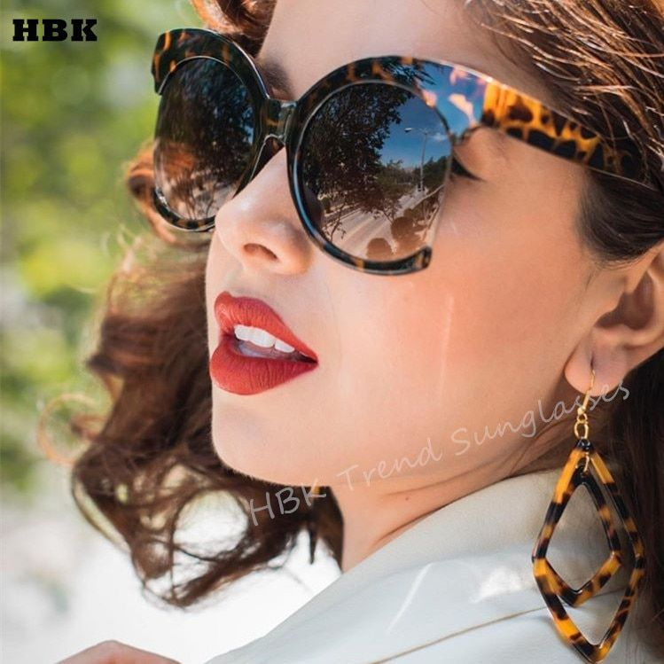 98176fb82ba Top Oversized Black Sunglasses Fashion Women Large Size Big Retro Mirror  Sun Glasses Lady Female Vintage Brand Designer UV400