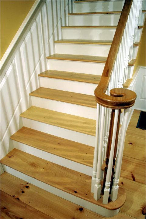 Best Eastern White Pine Stair Treads Premium Grade With A 400 x 300