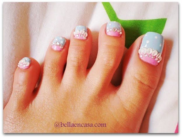 Fotos de decoraciones de u as para pies pedicures - Fotos de decoracion ...