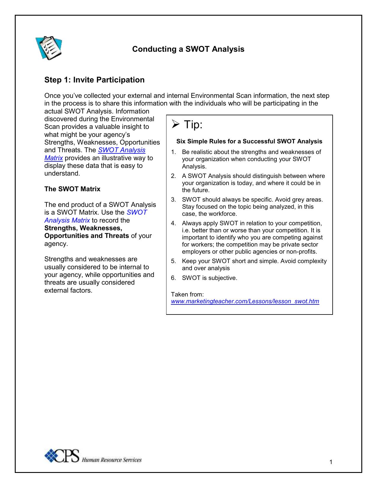 Worksheet Conducting A Swot Analysis Pr Pinterest Swot Analysis