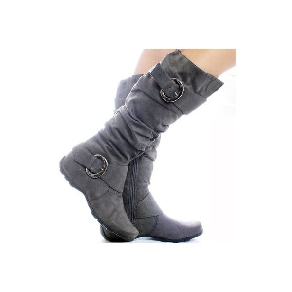 Flat Knee-High Boots Footwear