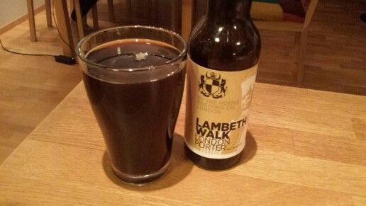 2014 Beer Advent Calendar-Day 20: Doing the Lambeth Walk...this would be perfect with chocolate but it's not too shabby on its own either :-) #beeradventcalendar