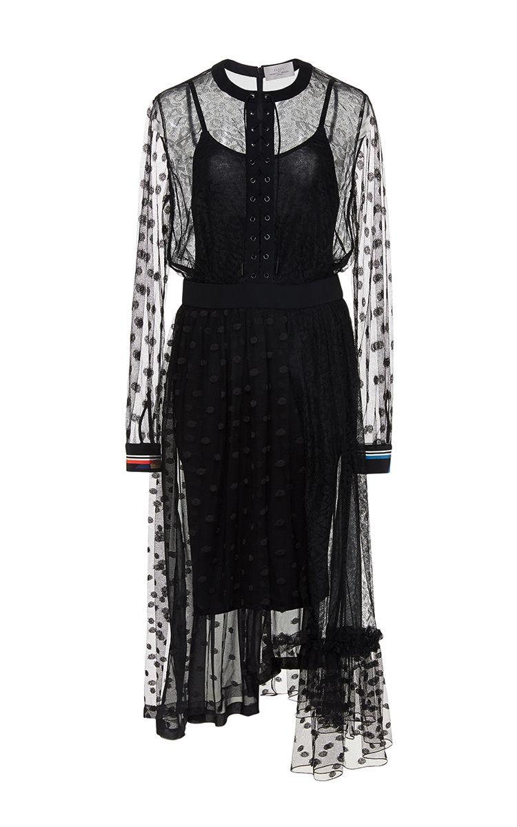 Elin dress fashion pinterest dresses ruffle dress and lace
