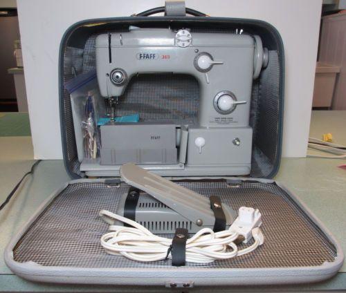 Vintage Pfaff 360 Sewing Machine Accessories Carry Case