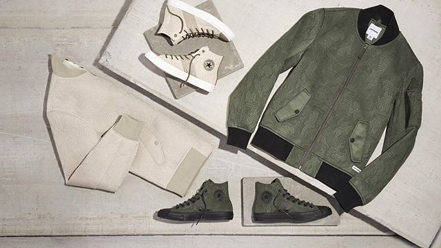 @ConverseChuck II and MA1 Bomber Jacket in Engineered Mesh launches online 00:01BST 7th October #converse #aw16