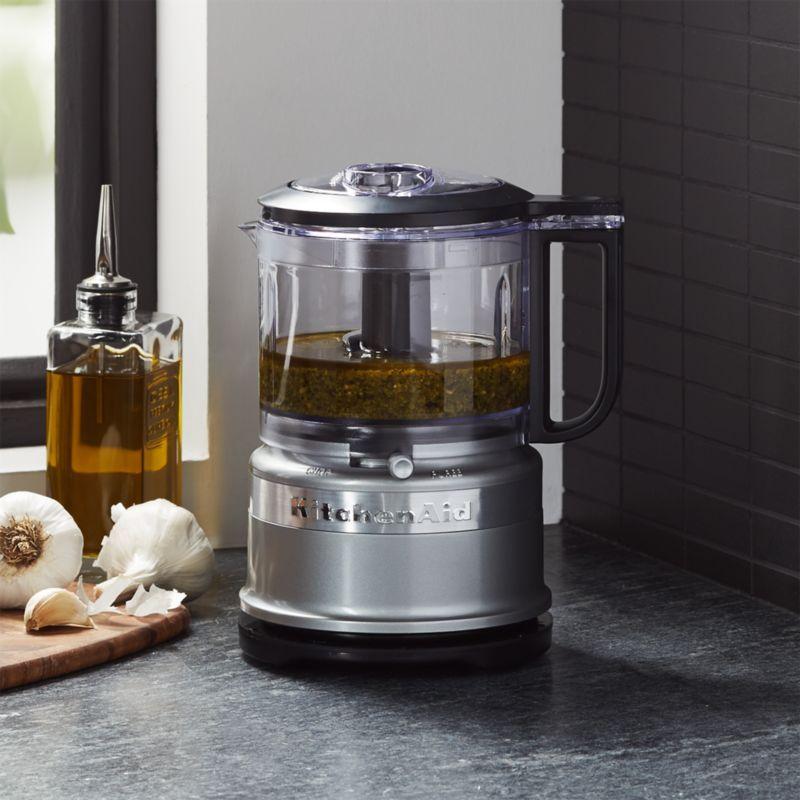 Kitchenaid contour silver 35cup mini food processor