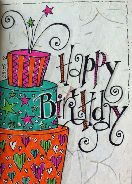 Happy Birthday Artwork