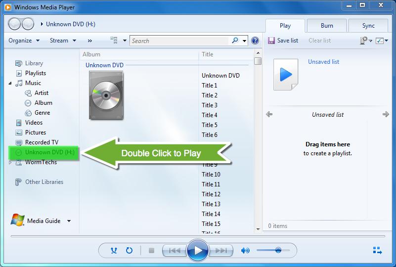 Play Dvd With Windows Media Player Dvd Dvd Organization Media