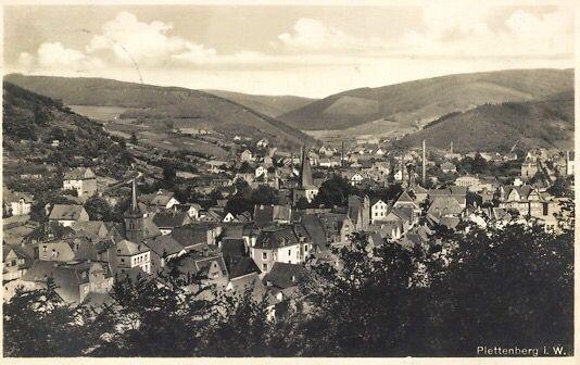 Plettenberg 30er Jahre