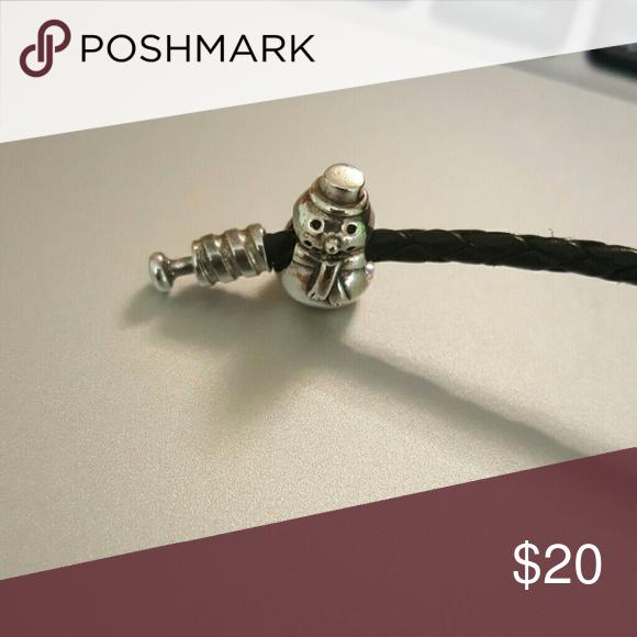 AUTHENTIC pandora snowman charm Snowman charm Jewelry Bracelets