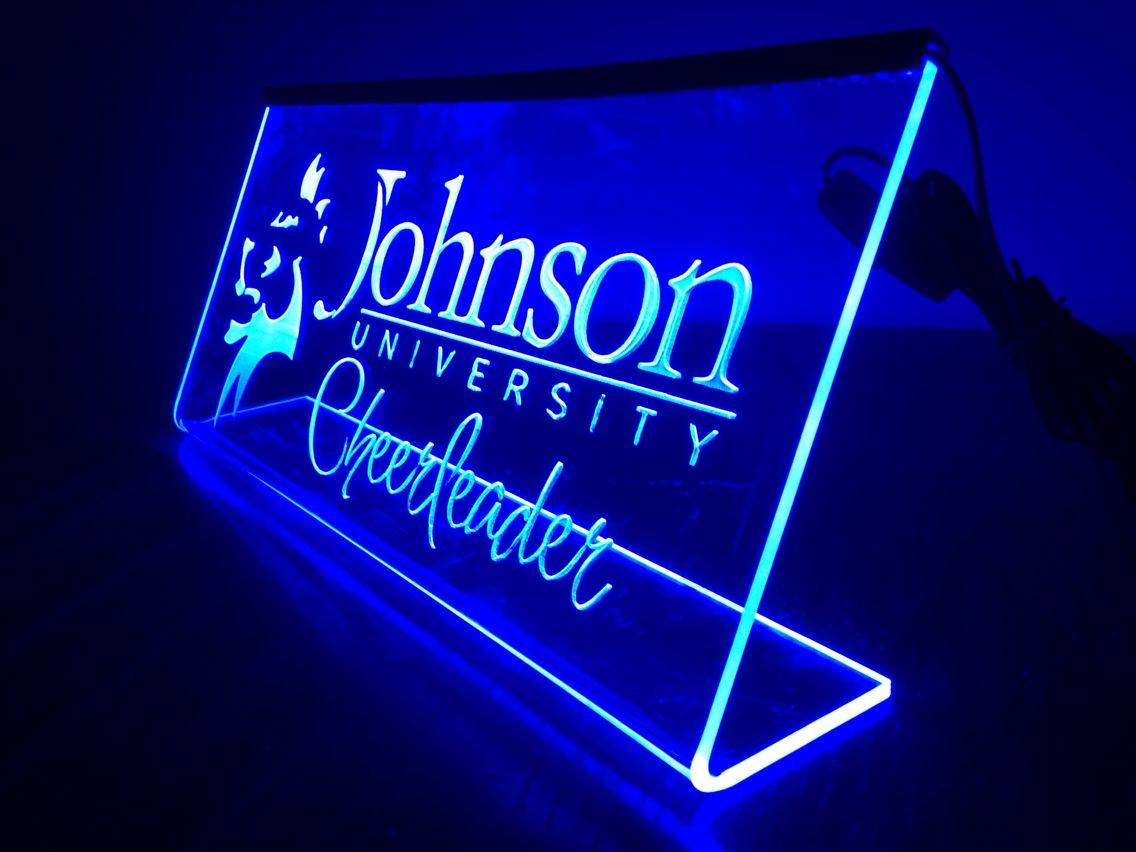 Laser Engraved Led Edge Lit Acrylic Sign Acrylic Ideas