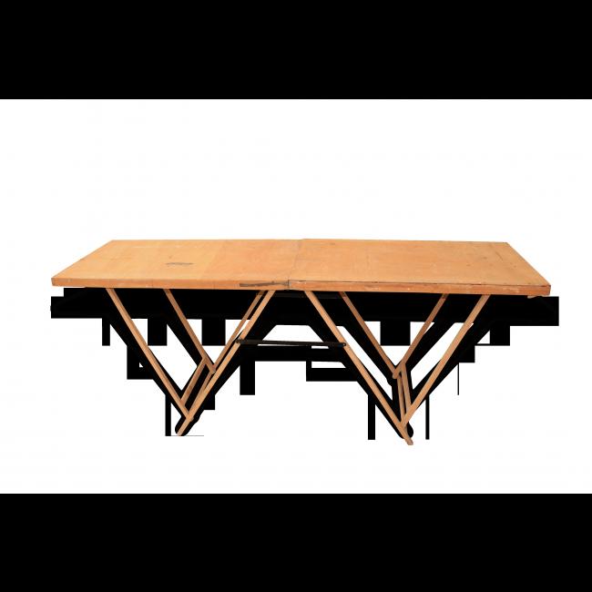 Ordinaire Table De Tapissier Ancienne #11: Ancienne Table Pliante De Tapissier Vendu Par Lu0027avenir - Cognac (16 -  Charente