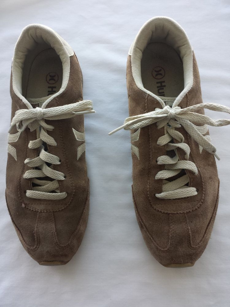 15bb3fb4125f Hurley Shoes Size 8 Womens Sneakers Brown Suede with Hurley Logo  Hurley   Walking