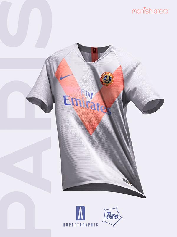 a66026e2 ... Kits By Rupertgraphic - Footy Headlines. Paris Saint Germain | special  concept 19/20 on Behance