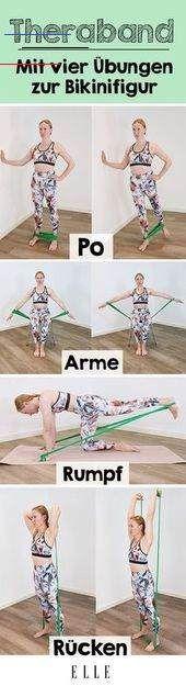 Diese Theraband-Übungen werden deinen Körper komplett verändern - Gesundheit TherabandÜbungen arşivl...