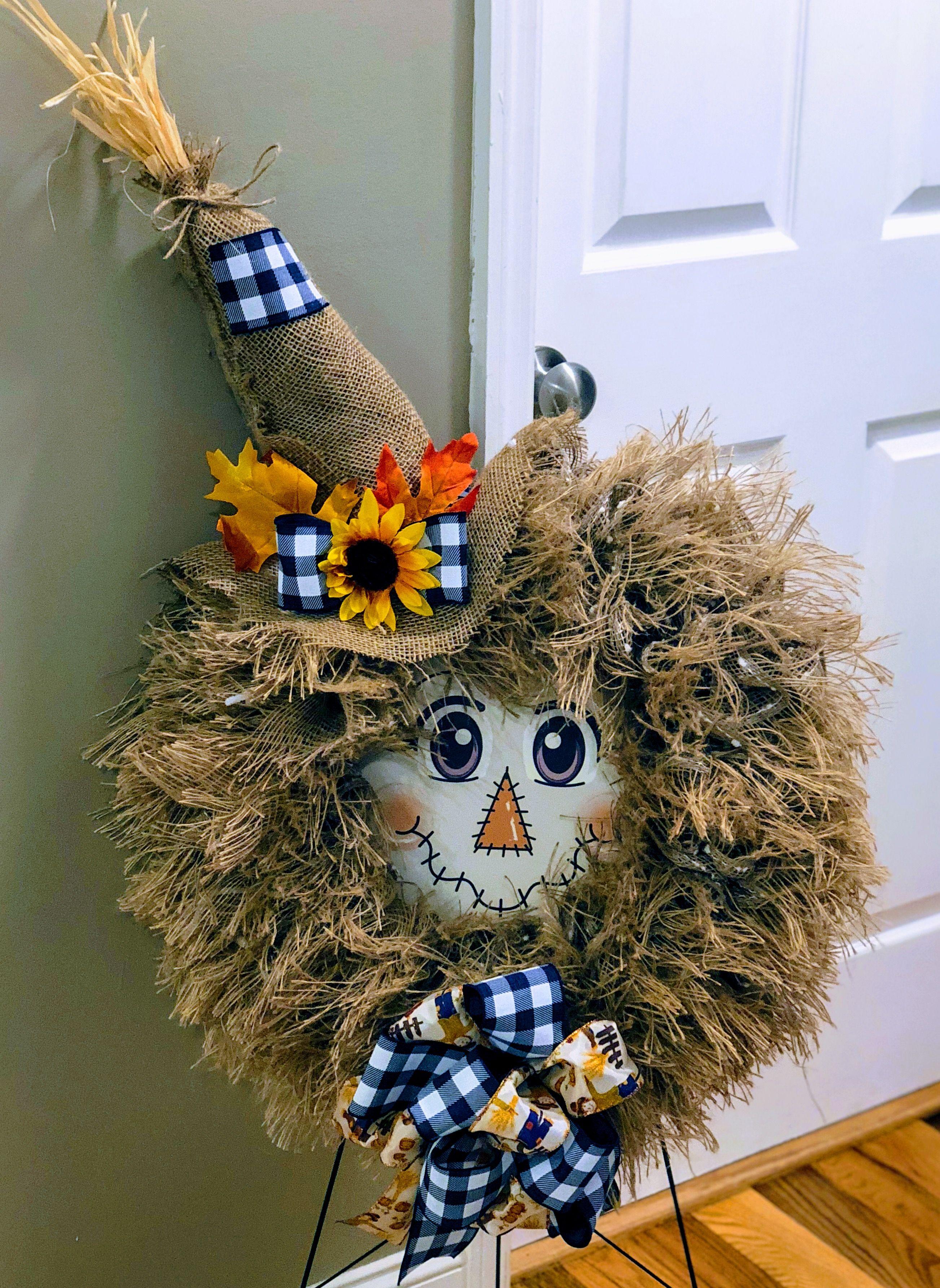 Gabrielle's Creations - Home | Facebook #scarecrowwreath