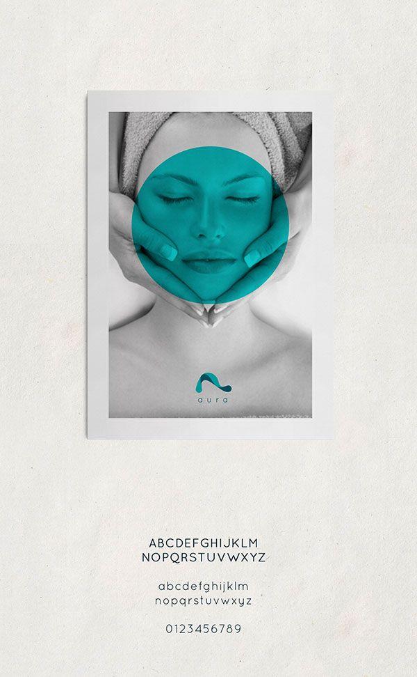 AURA - The natural fashion spa or beauty clinic by Rahul Bhosale, via Behance