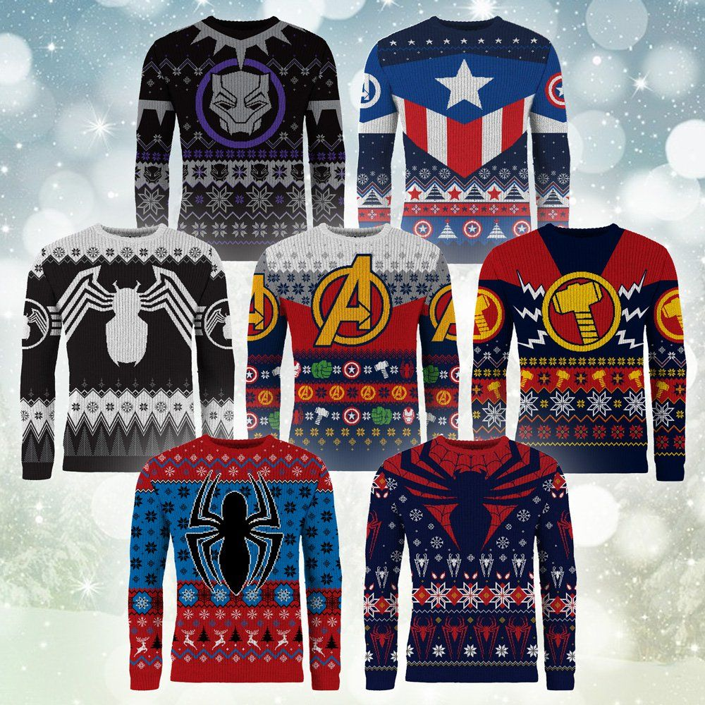 Superhero Ugly Christmas Sweaters.Pin On Your Pinterest Likes