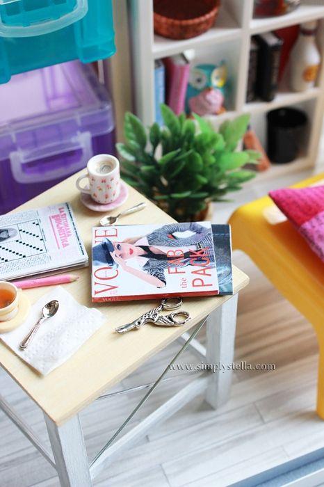 DIY Tutorial: Miniature Coffee Table