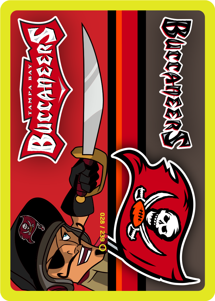 Nfl Tampa Bay Buccaneers Endzone Card From The Nfl Rush Zone Trading Card Game Kickoff Series 1 Buccaneers Trading Cards Game Tampa Bay Buccaneers Buccaneers