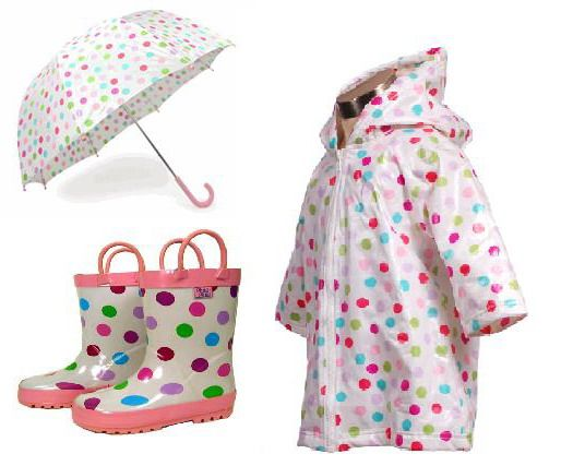 Kids Matching Raincoat and Rain Boots | Toddler Rain Gear ...