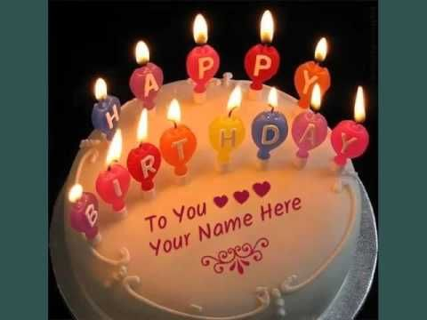 Image Result For Happy Birthday Cake Images With Name Editor Online