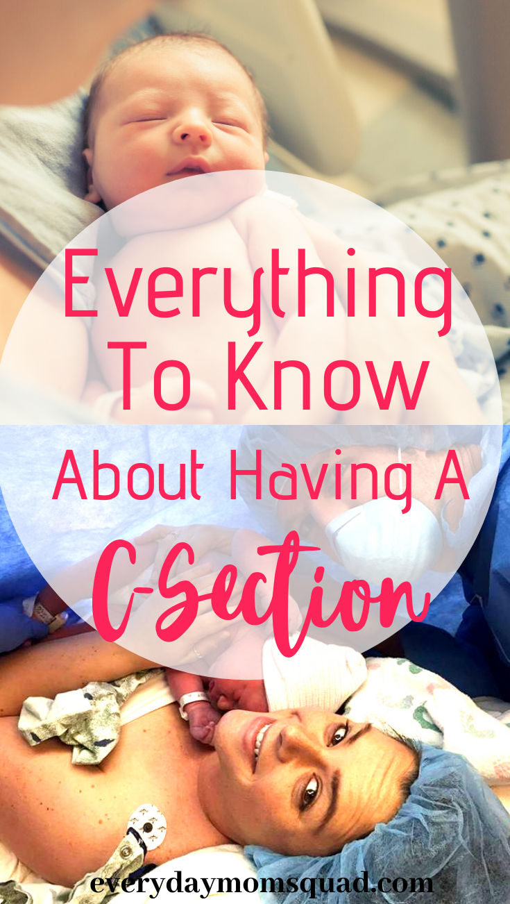 What To Know About Having A C-Section (Cesarean Section ...