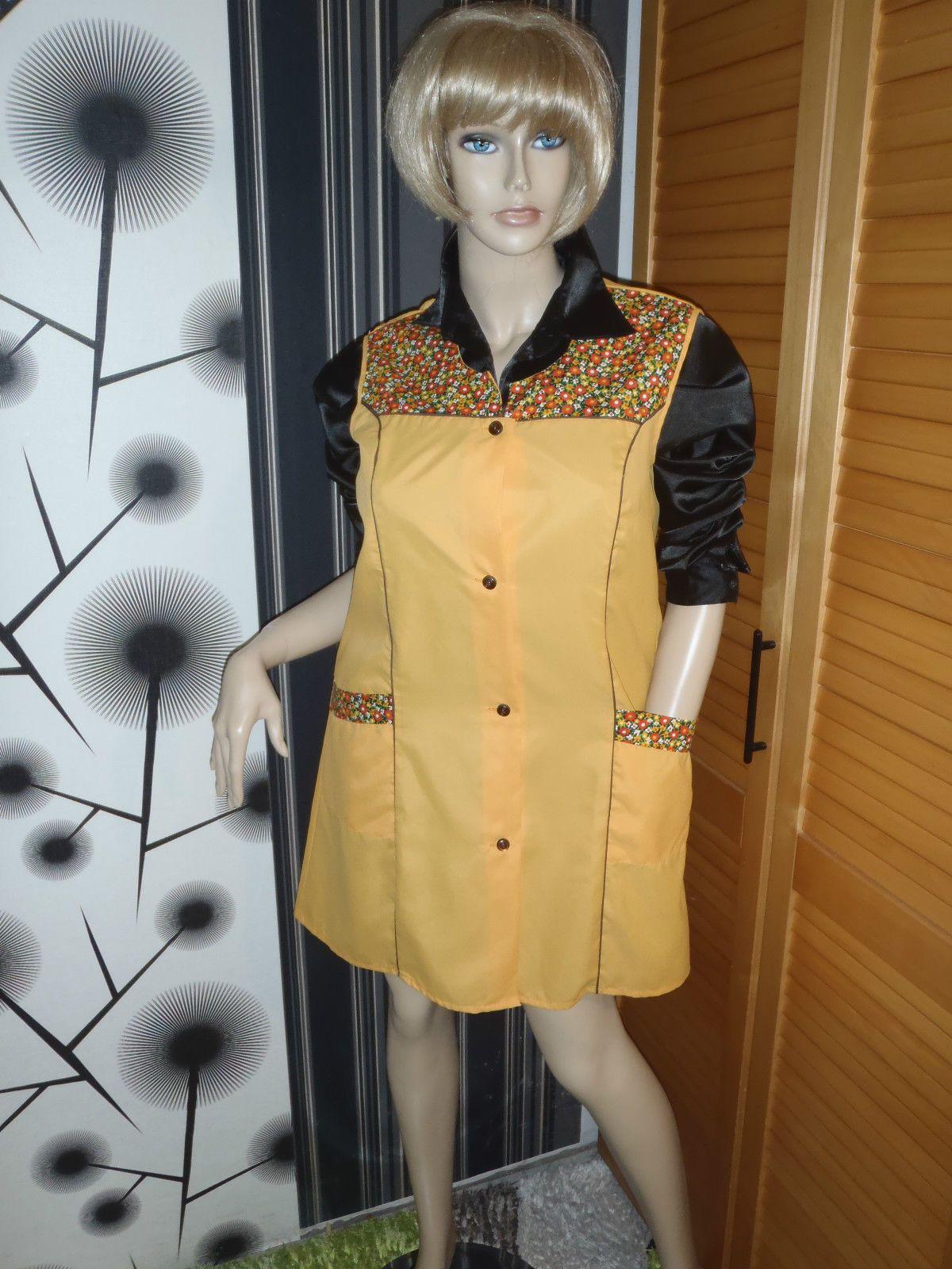 Nylon Kittel Schürze Vintage Glanz Blouse Sissy Boy Silk ...