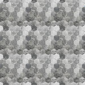 Kiln Ceramic Stretch Hex Tile 103 Colors Grey Ceramic Tile