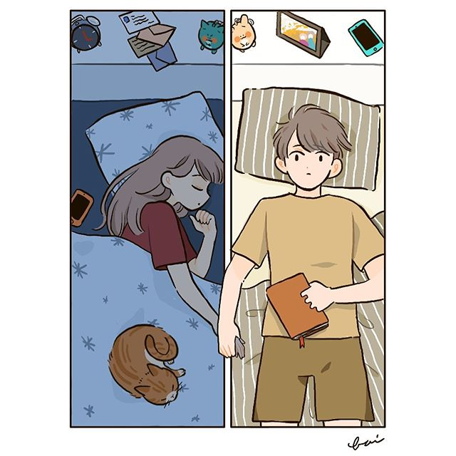 bai. (a.weird.bunch) · Instagram 照片和视频 Cute couple art