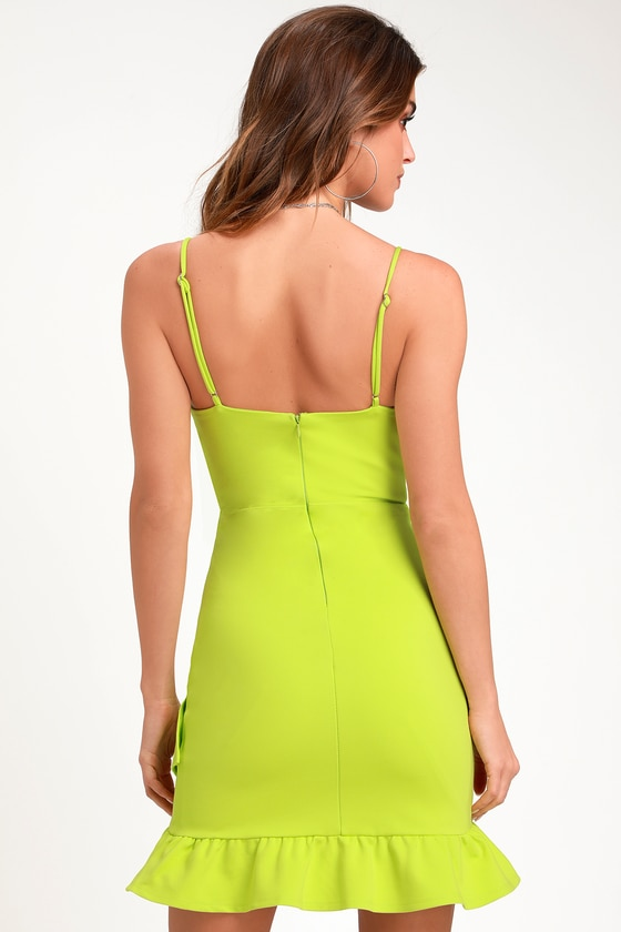 Sealed With A Kiss Lime Green Bodycon Dress Green Bodycon Dress Short Red Prom Dresses Bodycon Dress