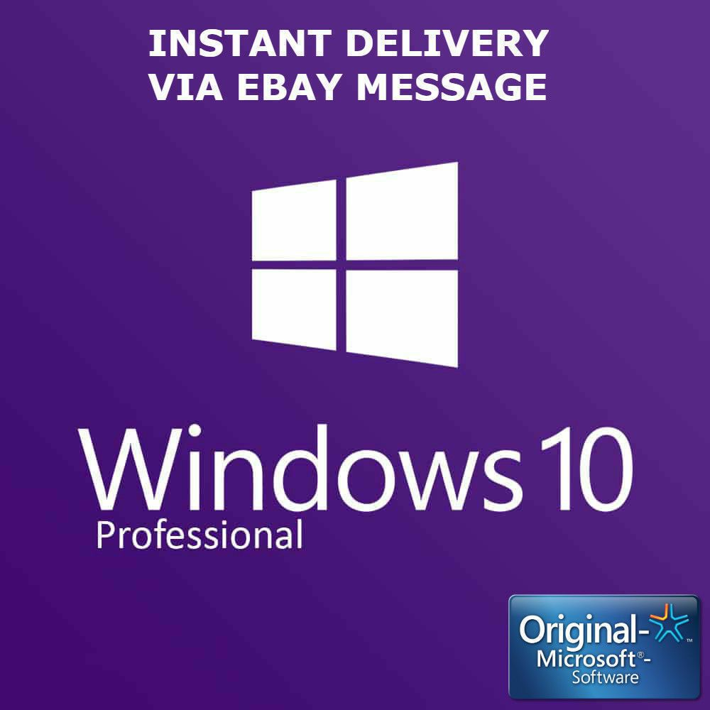 Windows 10 Pro Key Professional Win 10 Activation License ...