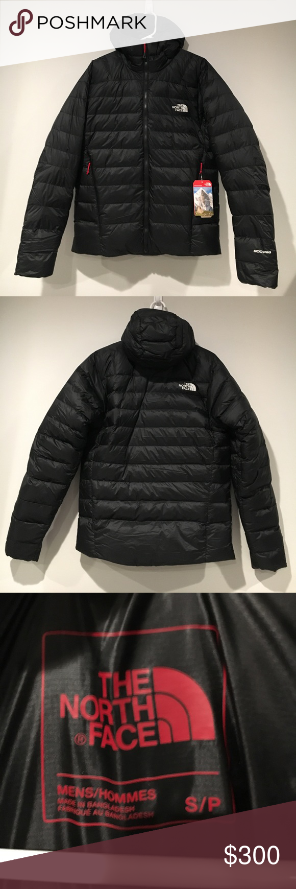 859d60c17de1 The North Face Super Diez Hooded Jacket New With Tags Black S (Men s) North  Face Jackets   Coats Puffers
