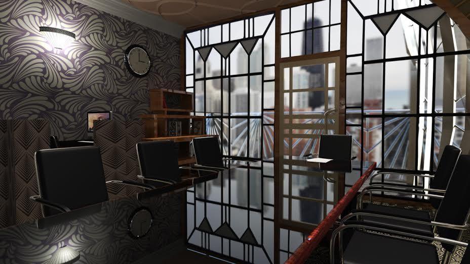 Image Result For Art Deco Office Interior Pr Brooklyn Warehouse