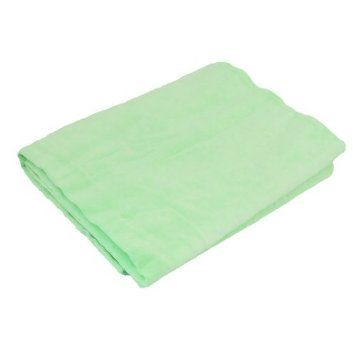 Water & Wood 66 x 43cm Furniture Glass Clean Cham Synthetic Chamois Water Absorb Towel Green with Car Cleaning Clothing