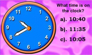 Telling Time Games For Kids, Math Online Activities - Analog ...