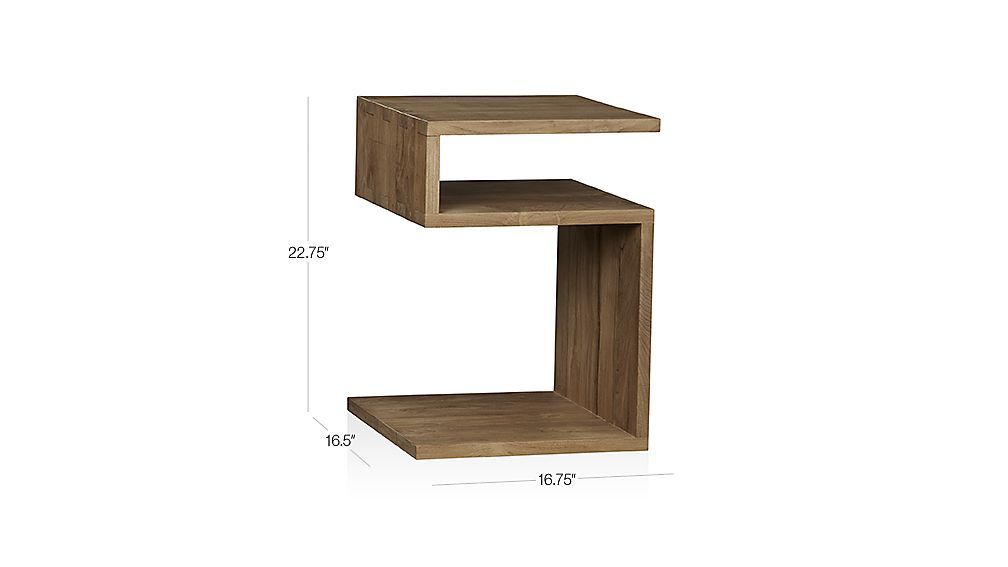 Shop Entu Side Table. Each Table Is Designed Using Only Plantation Grown  Solid Teak Certified Sustainable By The Forest Stewardship Council (FSC),  ...