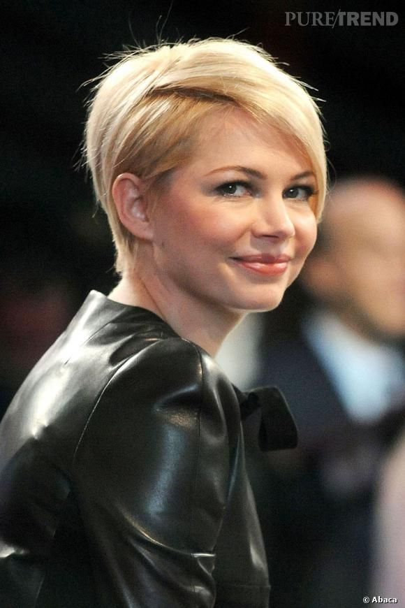 Michelle Williams une nouvelle coupe rock pour Le Monde