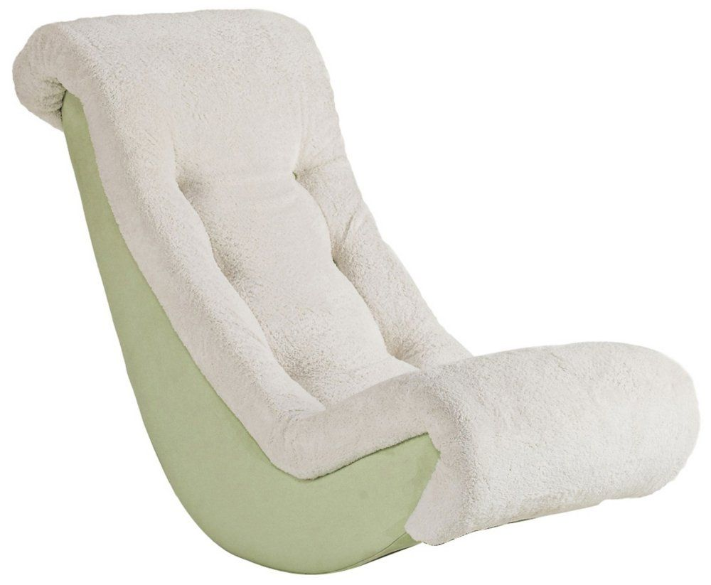 Banana Rocker Chair Amazon Navy Blue And Beige Microsuede Kids Banana Rocker